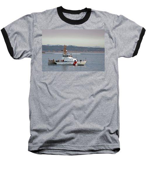 U.s. Coast Guard Cutter - Hawksbill Baseball T-Shirt