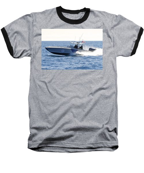 Us Customs At Work Baseball T-Shirt by Shoal Hollingsworth