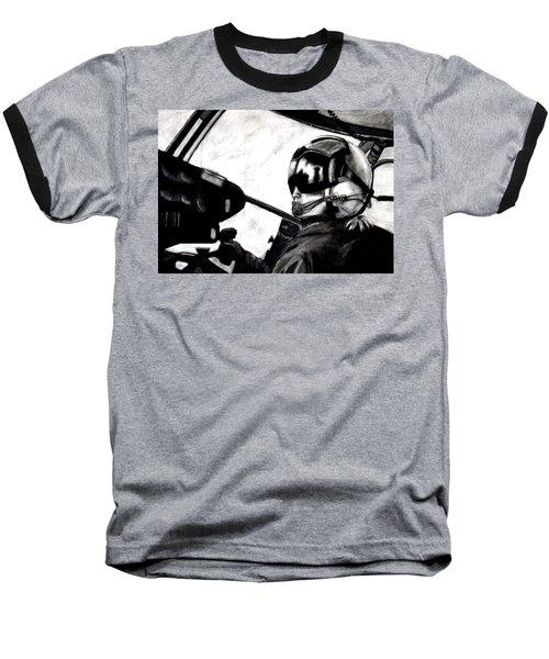 U.s. Marines Helicopter Pilot Baseball T-Shirt