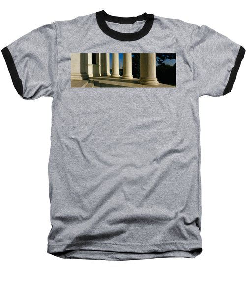 Usa, District Of Columbia, Jefferson Baseball T-Shirt by Panoramic Images