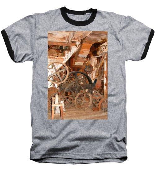 Used Parts As Art  Baseball T-Shirt by Brooks Garten Hauschild