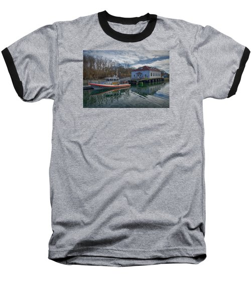 Usgs Castle Hill Station Baseball T-Shirt by Joan Carroll