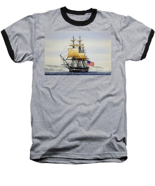 Uss Constitution Baseball T-Shirt
