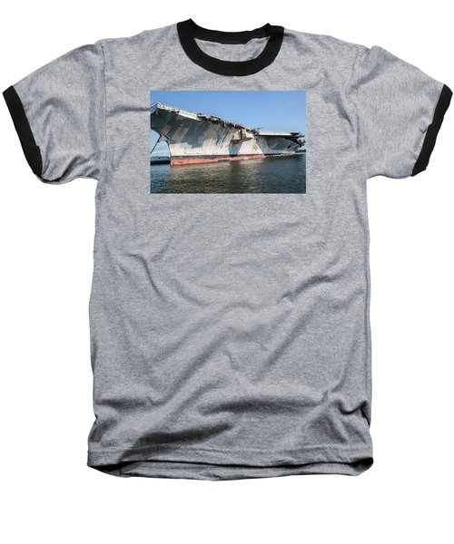 Uss John F. Kennedy Baseball T-Shirt
