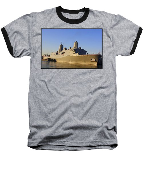 Uss New York - Lpd21 Baseball T-Shirt