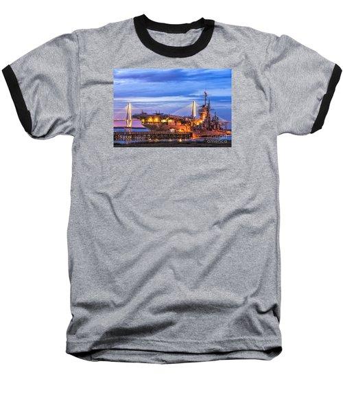 Uss Yorktown Museum Baseball T-Shirt