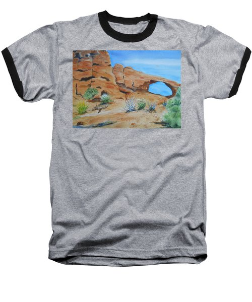 Utah - Arches National Park Baseball T-Shirt