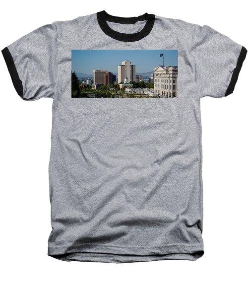 Utah State Capitol Building, Salt Lake Baseball T-Shirt by Panoramic Images