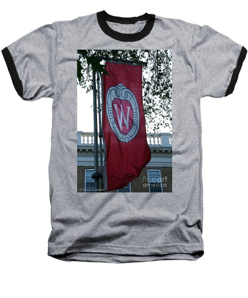 Uw Flag Baseball T-Shirt