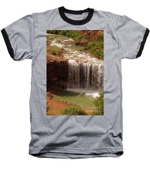 Vacation At Lower Navajo Falls Baseball T-Shirt