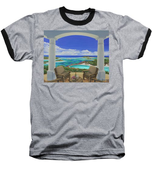 Vacation View Baseball T-Shirt