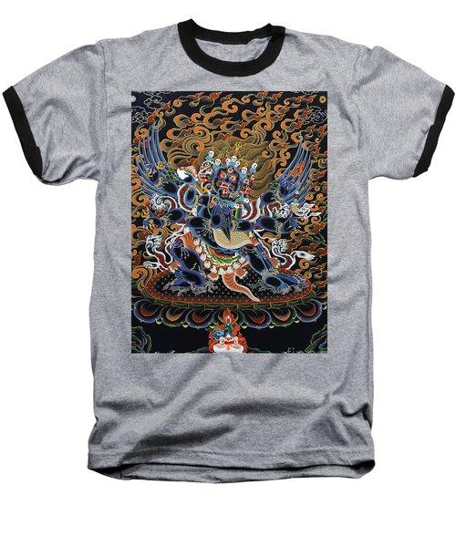 Vajrakilaya Dorje Phurba Baseball T-Shirt