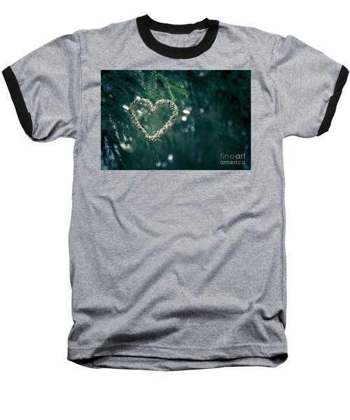 Valentine's Day In Nature Baseball T-Shirt by Andreas Levi
