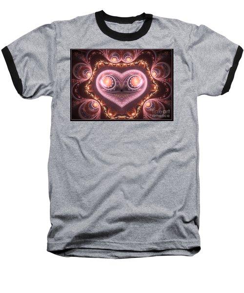 Valentine's Premonition Baseball T-Shirt
