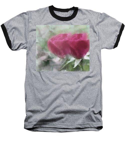 Valentine's Roses Baseball T-Shirt