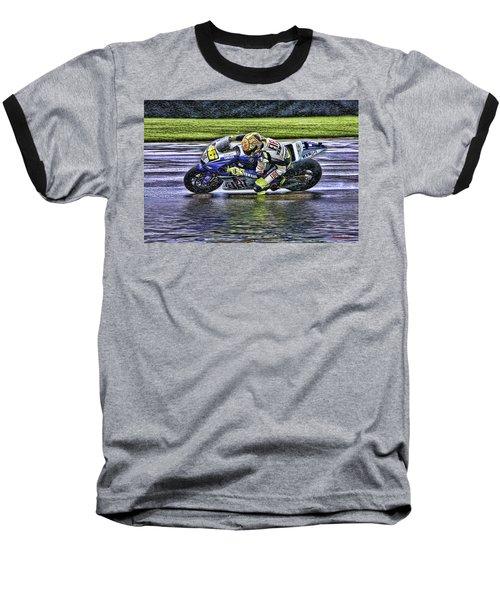 Valentino Rossi At Indy Baseball T-Shirt