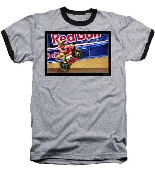 Valentino Rossi Ducati Baseball T-Shirt