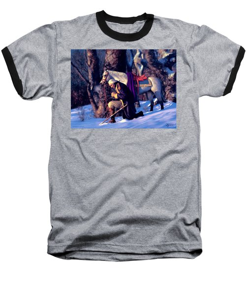 Valley Forge Baseball T-Shirt by Dave Luebbert