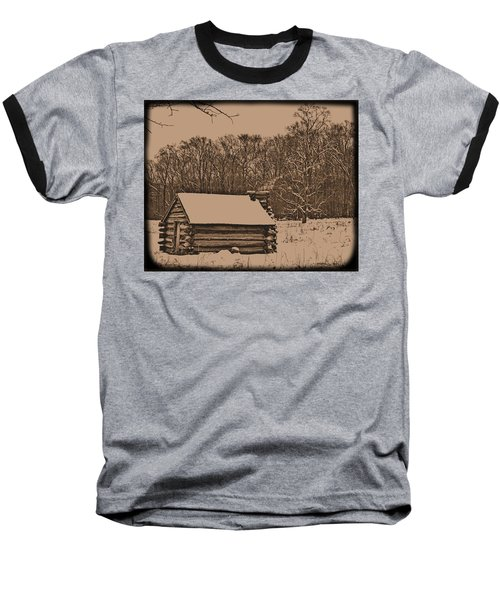 Valley Forge Winter 1 Baseball T-Shirt