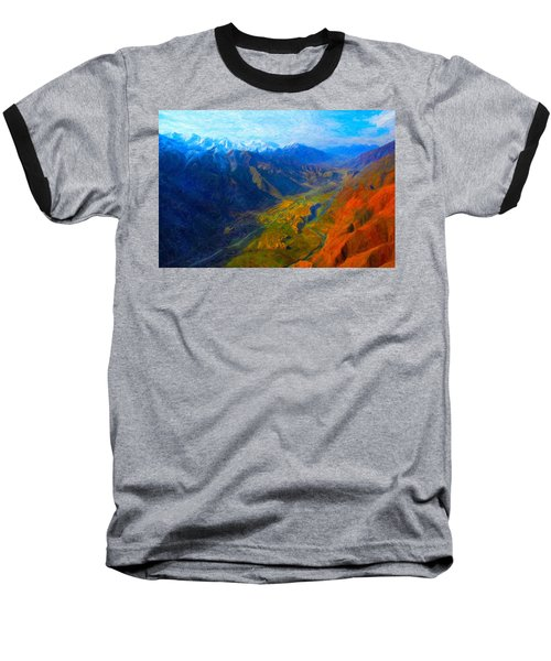 Valley Shadows Baseball T-Shirt
