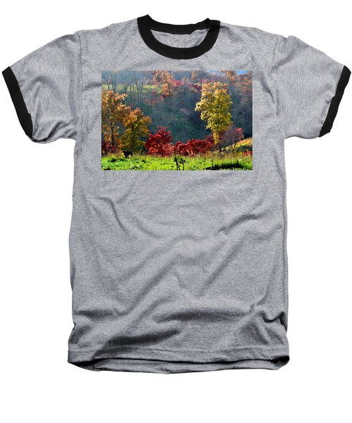 Baseball T-Shirt featuring the photograph Valley Sunshine by Deena Stoddard