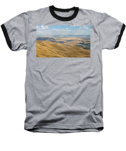 Baseball T-Shirt featuring the photograph Valley View by Mark Greenberg