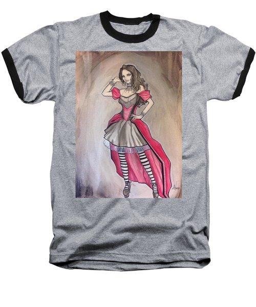 Vampire Mihela Baseball T-Shirt