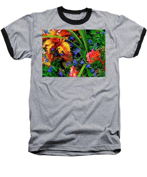 Van Gogh's Garden Baseball T-Shirt