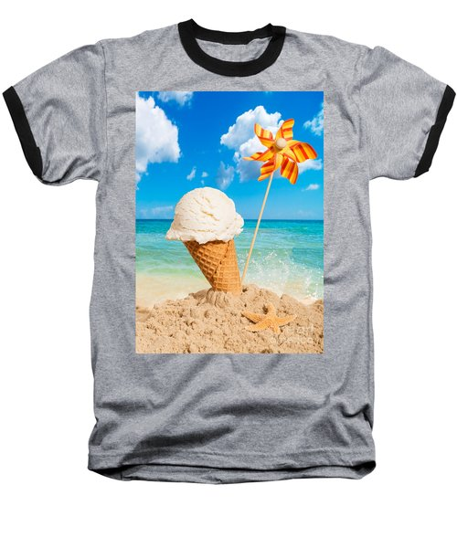 Vanilla Icecream Baseball T-Shirt