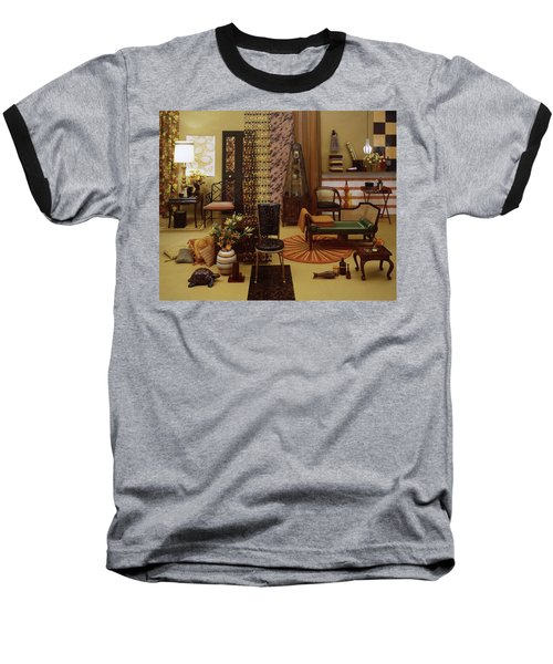 Various Tortoise Shell Furniture And Accessories Baseball T-Shirt