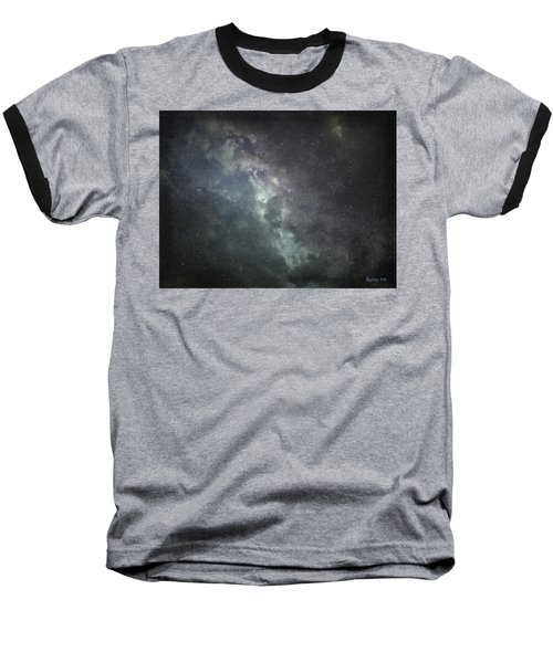 Baseball T-Shirt featuring the photograph Vast Universe by Cynthia Lassiter