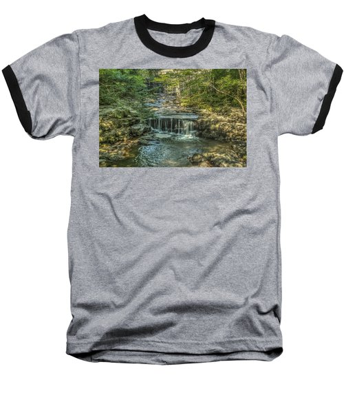 Baseball T-Shirt featuring the photograph Vaughan Woods Stream by Jane Luxton