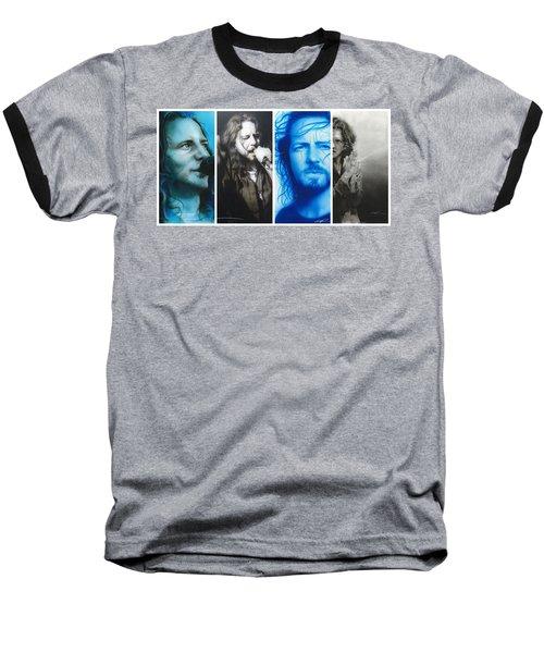 Vedder Mosaic I Baseball T-Shirt