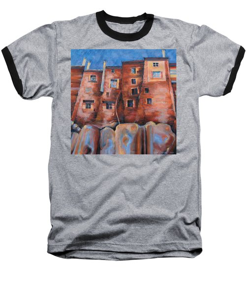 Vedette Facce Italy Baseball T-Shirt
