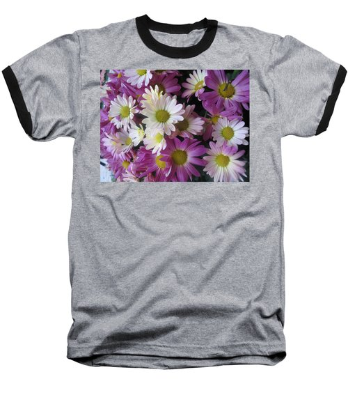 Baseball T-Shirt featuring the photograph Vegas Butterfly Garden Flowers Colorful Romantic Interior Decorations by Navin Joshi