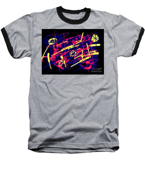 Vegas Delight Baseball T-Shirt by Paulo Guimaraes