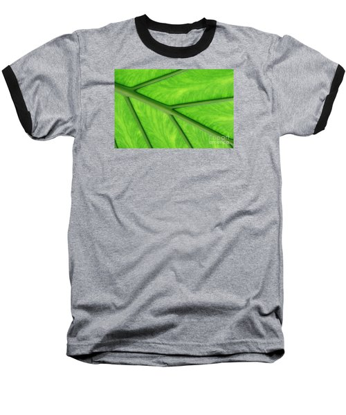 Baseball T-Shirt featuring the photograph Veins Of Life by Judy Whitton