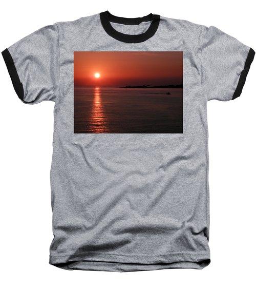 Vela In Grecia Baseball T-Shirt
