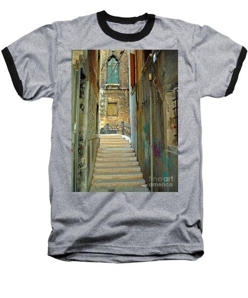 Venetian City Of Bridges Baseball T-Shirt