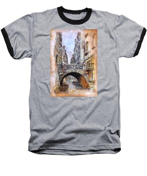 Venice 2 Baseball T-Shirt by Andrzej Szczerski