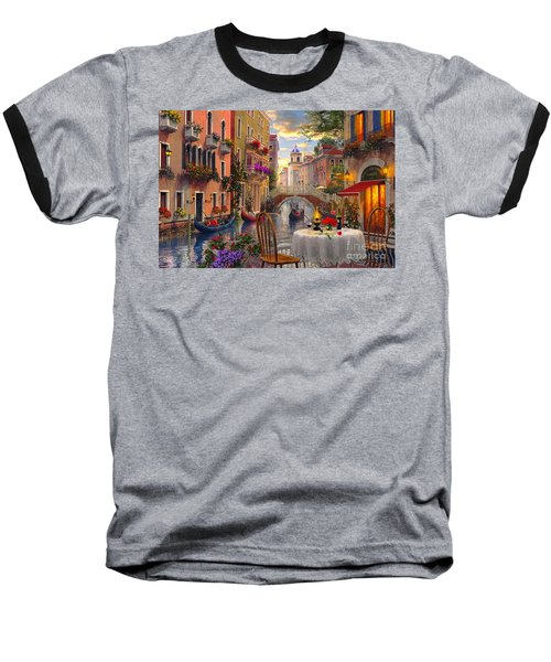 Venice Al Fresco Baseball T-Shirt