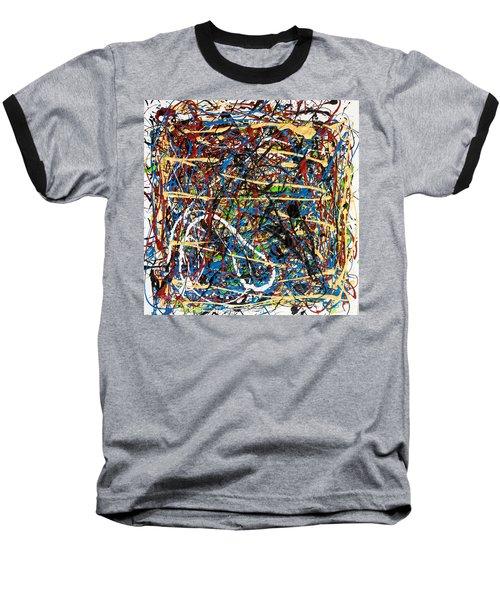 Venice Beach - Sun Tan Baseball T-Shirt by Elf Evans