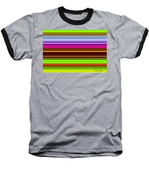 Venice Flower Abstract Baseball T-Shirt