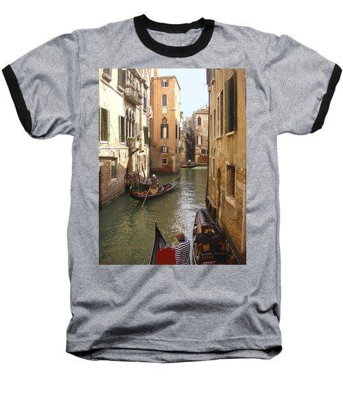 Venice Gondolas Baseball T-Shirt