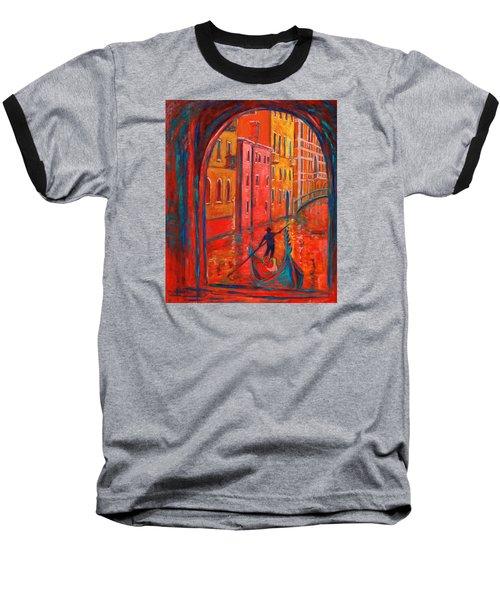 Venice Impression Viii Baseball T-Shirt