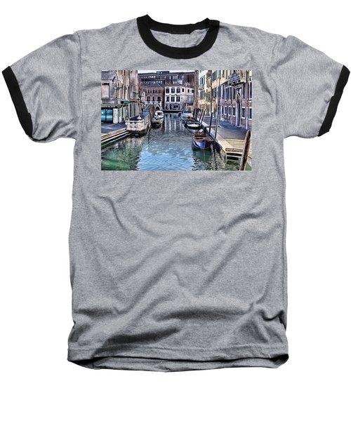 Venice Italy Iv Baseball T-Shirt by Tom Prendergast