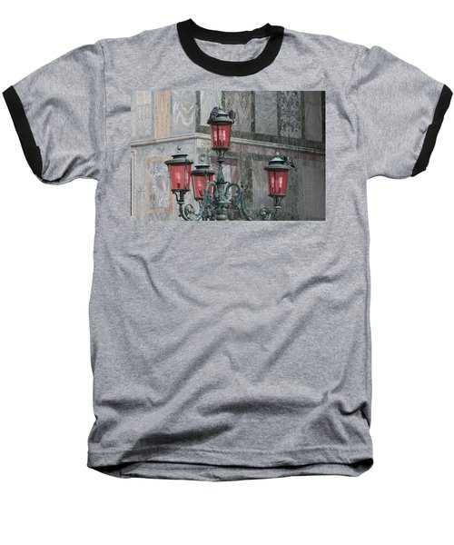 Venice Lights By Day Baseball T-Shirt