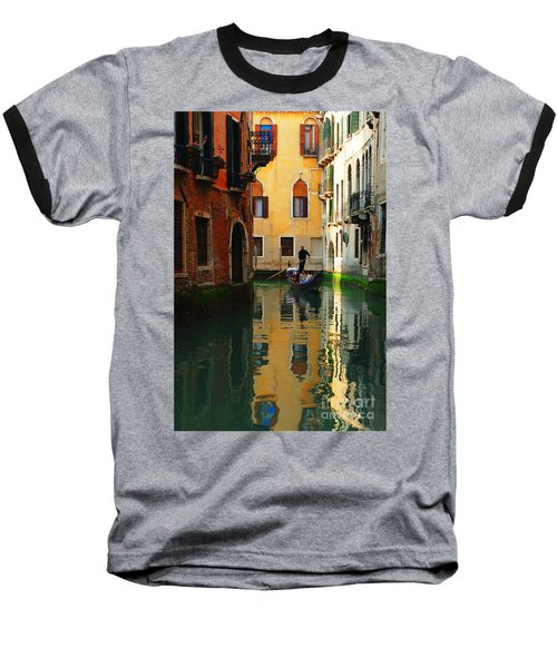 Venice Reflections Baseball T-Shirt