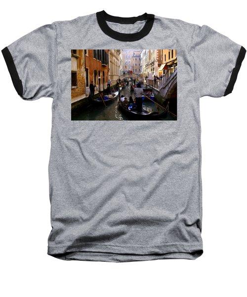 Venice Baseball T-Shirt by Ron Harpham