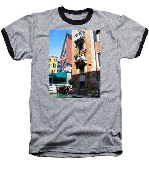 Venice Series 6 Baseball T-Shirt by Ramona Matei